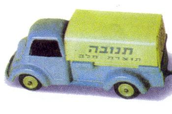 האוטו הירוק - גם צעצוע אהוב.